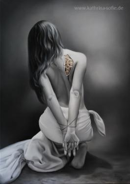 """Internally Enslaved"", oil on canvas, 50 x 70 cm"