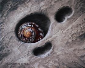 """""""Child's Treasure"""", oil on canvas, 24 x 30 cm"""